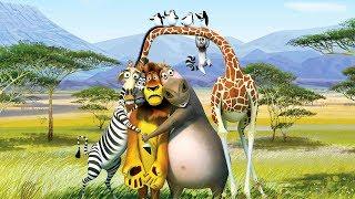 Мадагаскар Киндер сюрприз!!!      Madagascar Kinder Surprise !!!