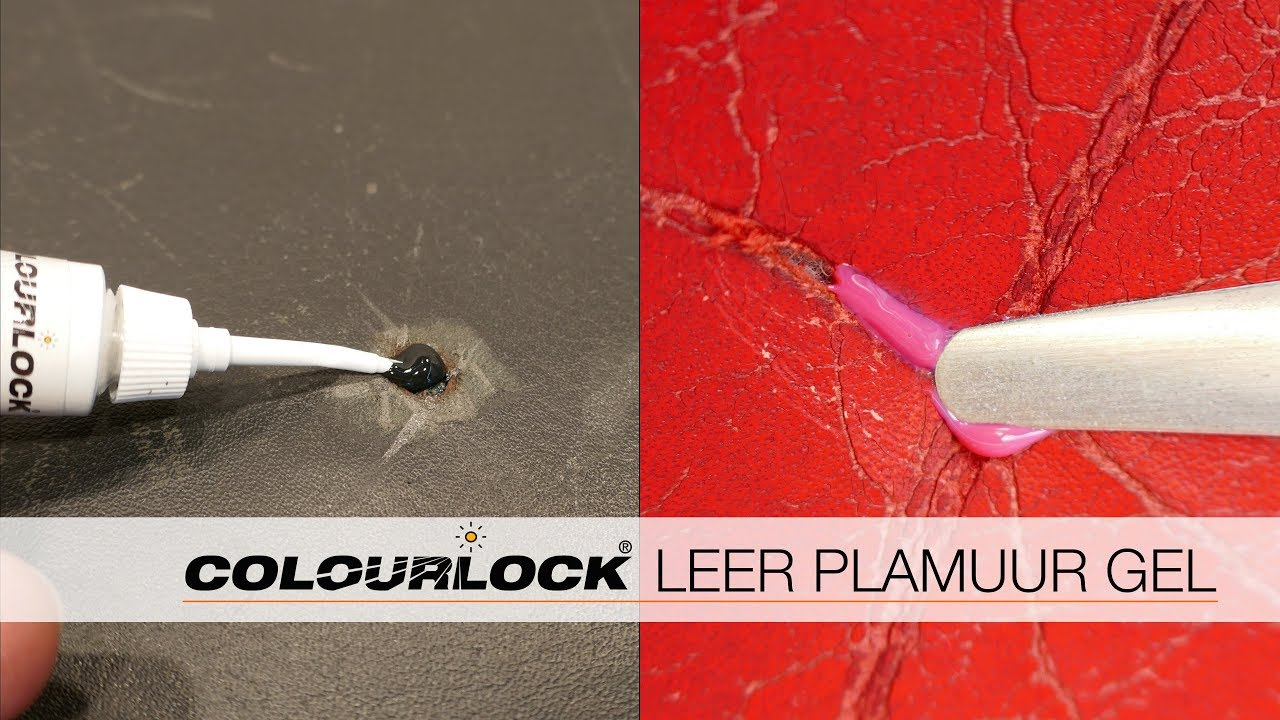 Scheur In Leren Bank Repareren.De Reparatie Van Scheuren En Gaten In Glad Leder Colourlock