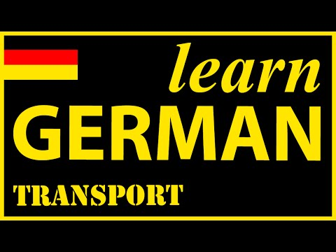 Transport in German | German Lessons for Learners