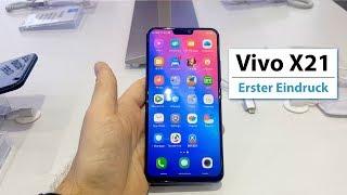 Das Vivo X21 (UD) ist das zweite Smartphone mit einem eingebauten F...