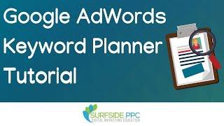 Google Keyword Planner Tutorial NEW Interface - Google AdWords Keyword Tool Tutorial 2019