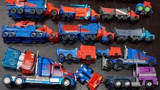 Optimus Prime Transformers RID, Rescue Bots, Masterpiece Collection Blue Car Color Mainan Truck Toys
