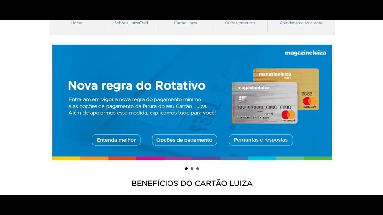 Cartao Magazine Luiza Mastercard Sem Comprovacao De Renda Youtube
