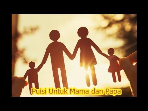 Mari Merenung !!! Puisi Untuk Mama dan Papa | Rindu Klaten