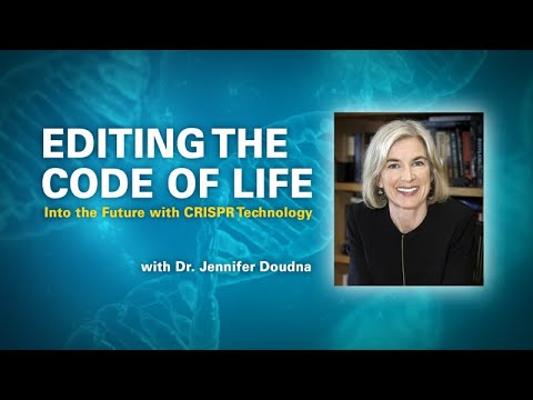 Into The Future With CRISPR Technology With Jennifer Doudna