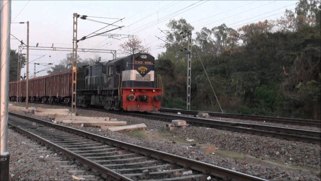 INDIAN RAILWAYS FREIGHT TRAIN IN HD