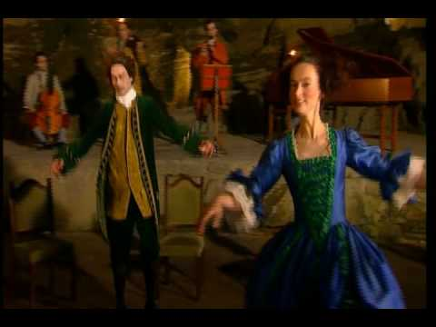how to dance the minuet