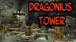 The Elder Scrolls V: Skyrim - Mods Show #18 Dragonius Tower & Plant Trees [DEUTSCH]