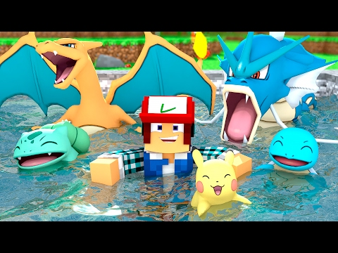 Download Youtube: Minecraft: PISCINA DE POKÉMON  !! (Parque Pokémon #10)
