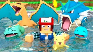 Minecraft: PISCINA DE POKÉMON  !! (Parque Pokémon #10)