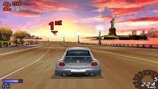 Asphalt Urban GT Nintendo DS Gameplay HD (DeSmuME)