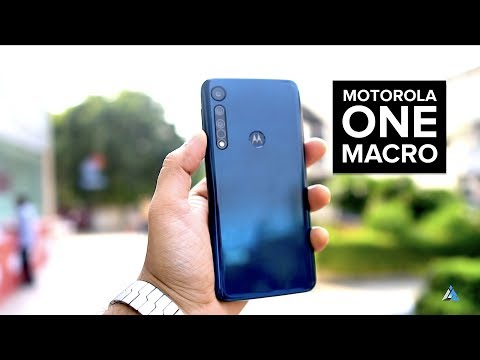 Motorola Moto One Macro UNBOXING and REVIEW [CAMERA, GAMING, BENCHMARKS]