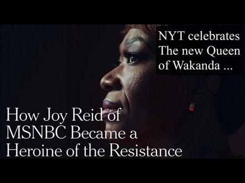The All Mighty and All-Powerful Joy Reid of MSNBC. -- And other fairy tales.