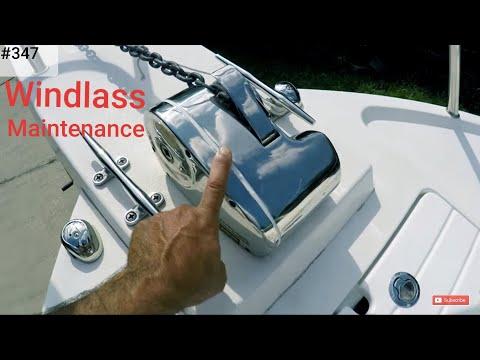 Lewmar PRO-Fish 700 Windlass Maintenance Crooked PilotHouse Boat