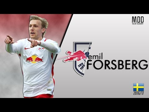 Emil Forsberg | RB Leipzig | Goals, Skills, Assists | 2016/17 - HD