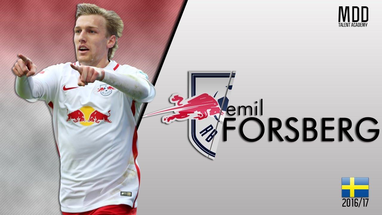 Emil Forsberg   RB Leipzig   Goals, Skills, Assists   2016/17 - HD