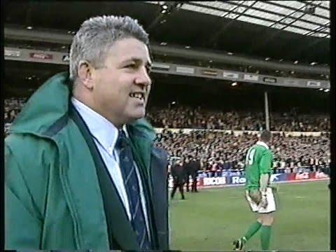 Warren Gatland's first win as Ireland Coach