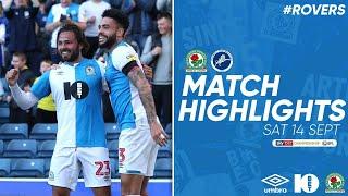 Blackburn Rovers v Millwall highlights