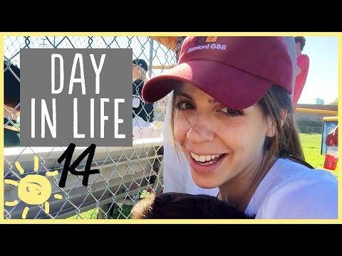 ELLE  DAY IN LIFE 14: Tball, Date Night, 36 weeks preggo!