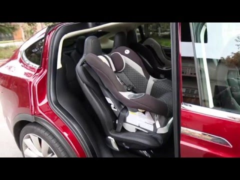 Installing Child Seats On Tesla Model X Youtube