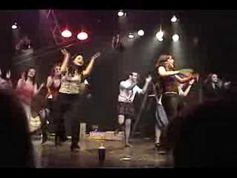 Cabaret Neiges Noires  Fin du spectacle