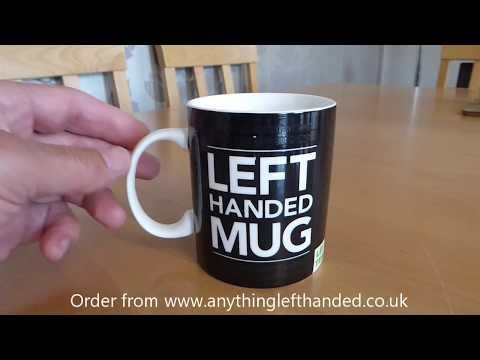 Left-Handed Heat Changing Mug