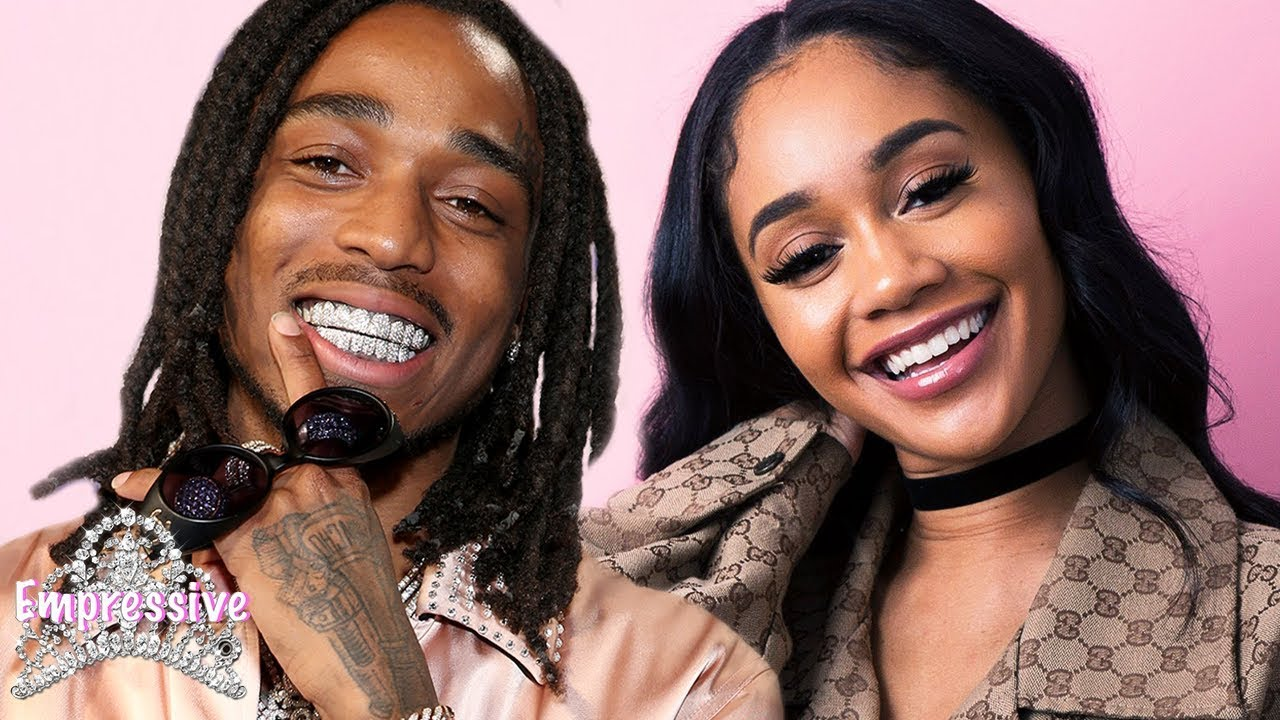 "Saweetie and Quavo are dating? | Saweetie stars in Quavo's new video ""Workin Me"""
