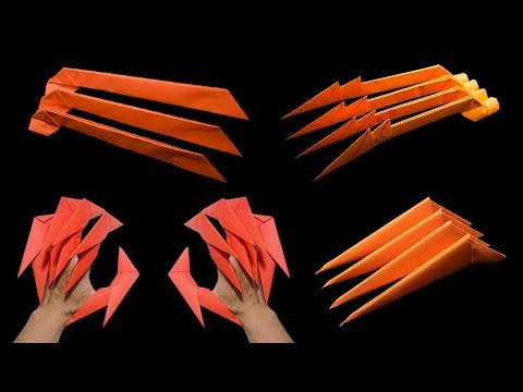 06 Awesome #origami #claws