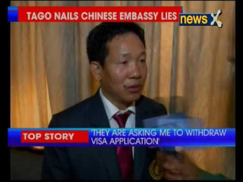 Bamang Tago nails Chinese embassy lies, shows proof of Visa Application