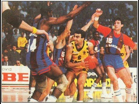 ARIS-BARCELONA 93-107 (1987-88)