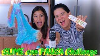 SLIME con PAUSA CHALLENGE | Adivina cual fue el mejor | AnaNana Toys
