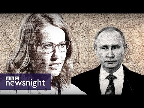 Russia's 'fake' election - BBC Newsnight