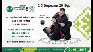 LIVE I Всеукраїнський рейтинговий Чемпіонат України з джиу-джитсу