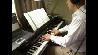 Juliet Bravo - J.S.Bach, arr. Derek Goom - played by Alan Jenney on the digital piano