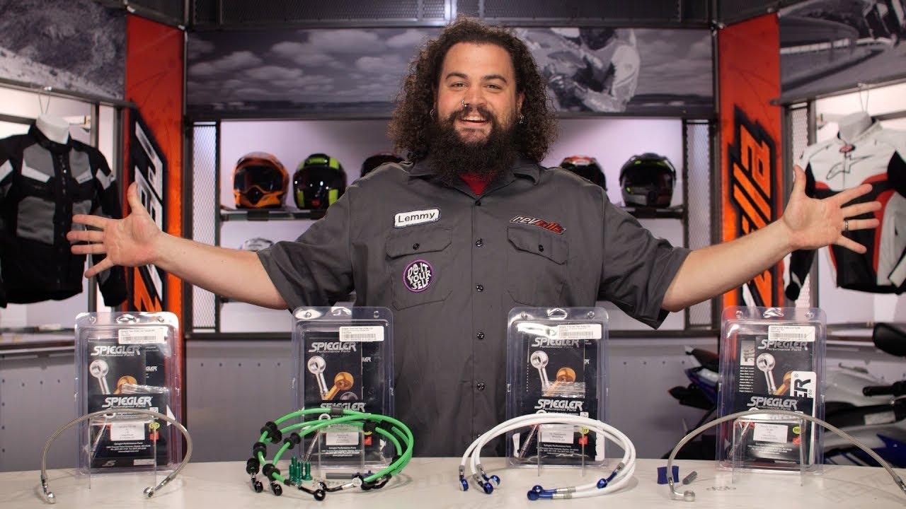Spiegler Brake Lines Review at RevZilla com