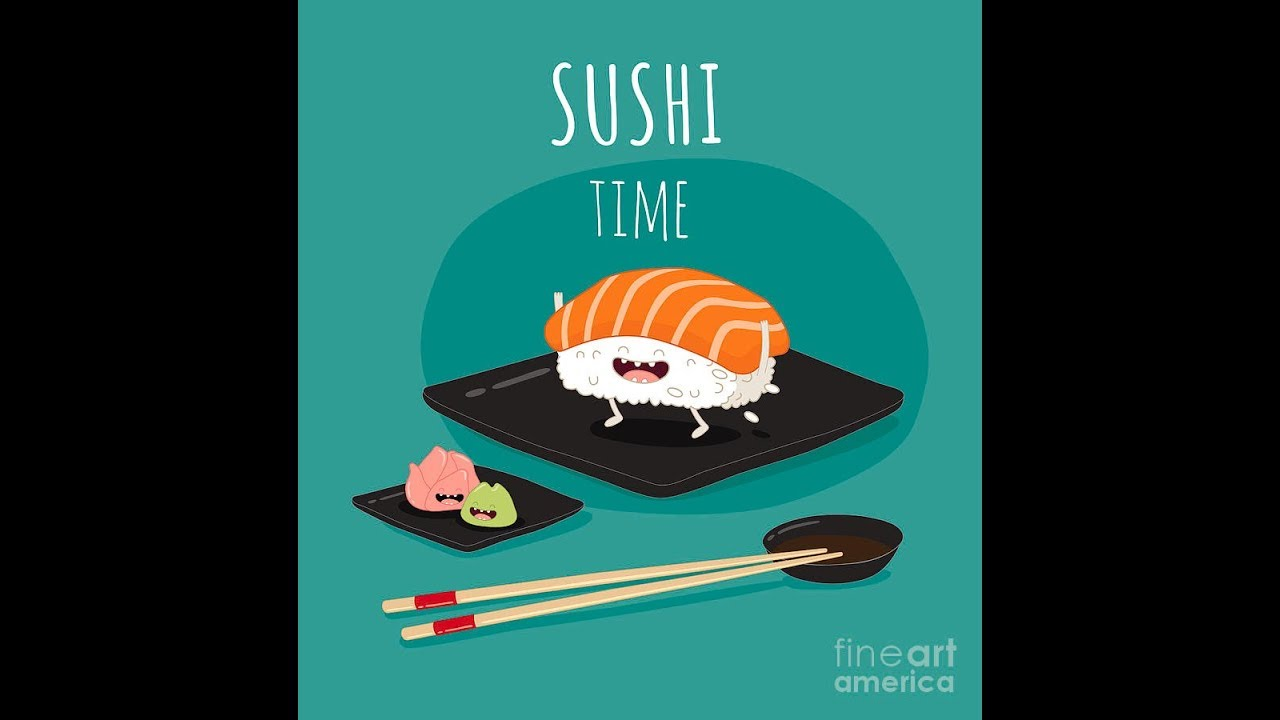 Картинка суши с надписями, гиф руки