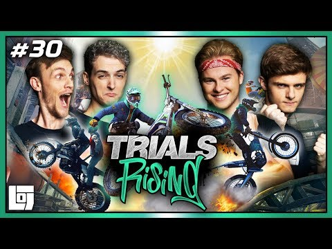 WIPPEN OP TANDEM-MOTORS in TRIALS RISING met Milan, Roedie, Roy en Duncan | LOGS3 | #30