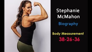 Stephanie McMahon Biography and Family Detail - Stephanie McMahon Body Measurements