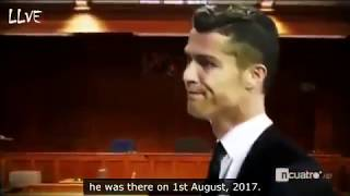 Cristiano Ronaldo Gets ANGRY In Court * LEAKED FOOTAGE *