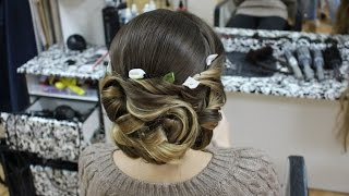 Прически.свадебные прически.Hairstyles for long medium hair(, 2014-10-31T21:29:53.000Z)