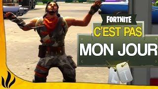 C'ÉTAIT PAS MON JOUR ! (Fortnite: Battle Royale)