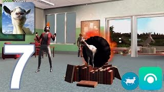 Goat Simulator - Gameplay Walkthrough Part 7 - Buck To School Completed (iOS, Android)