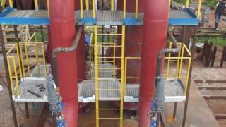 Нефтегазовое оборудование для подготовки природного газа к транспорту