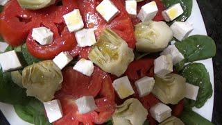 Cómo hacer ensalada de alcachofas en conserva, al estilo de Mariaje