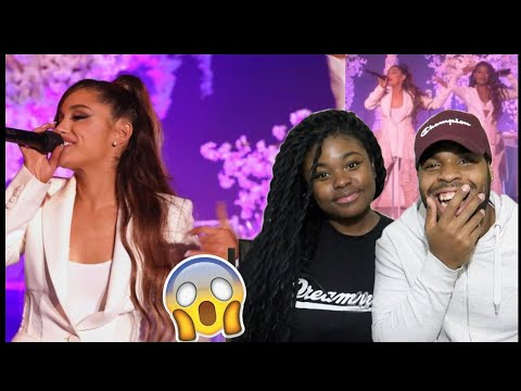 HER VOICE IS BEAUTIFUL ❤️ | ‪Ariana Grande - thank u, next (Live on Ellen / 2018) | ‬REACTION!!!