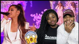 HER VOICE IS BEAUTIFUL ❤️ | Ariana Grande - thank u, next (Live on Ellen / 2018) | REACTION!!!