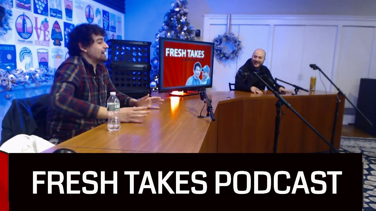 FRESH TAKES LIVE AT 10 PM: December football, MLB winter meetings & the implosion of the Chicago Bulls (podcast)