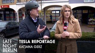 Tesla Reportage mit Katjana Gerz - Silicon Valley vs Brandenburg | Late Night Berlin | ProSieben