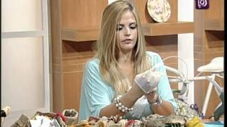 خبيرة الأشغال اليدوية فاي سابا تزين أكياس الخيش | Ro
