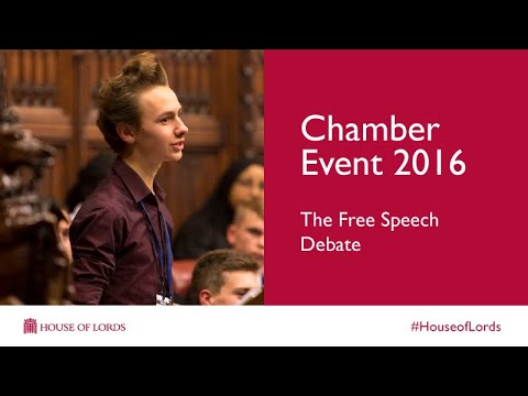 Chamber Event 2016 | Full video | House of Lords